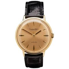 IWC Vintage Yellow Gold Automatic Wristwatch