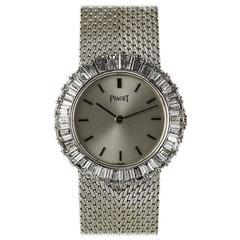Piaget White Gold Diamond Bezel Dancer Ladies Cocktail Watch