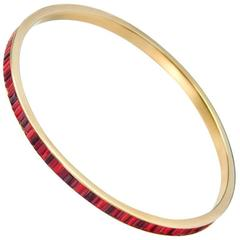 Sicis Gold Micromosaic Bangle
