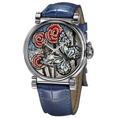 Sicis Ladies Joy Stainless Steel Micromosaic Automatic Wristwatch
