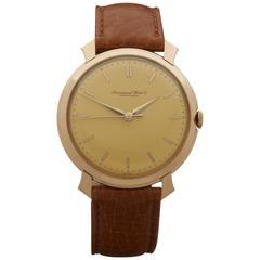 IWC Rose Gold Mechanical Wind Wristwatch 1960