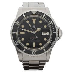 Rolex Submariner Red Mark IV Feet First Stainless Steel Gents 1680