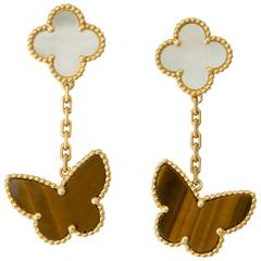 Van Cleef & Arpels Lucky Alhambra Earrings