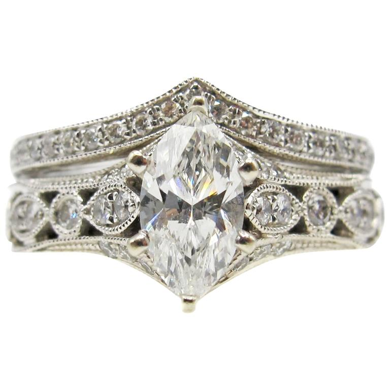 Neil lane bridal diamond ring and band at 1stdibs neil lane bridal diamond ring and band for sale junglespirit Choice Image