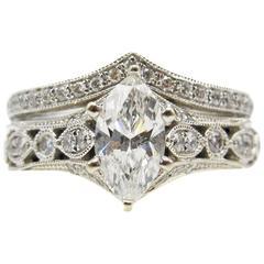 Neil Lane Bridal Diamond Ring and Band