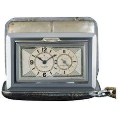 Rolex Nickel Sporting Prince Chronometer Travel Clock