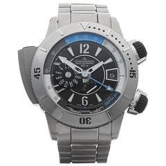 Jaeger-LeCoultre Titanium Master Compressor Diving Pro Geo Automatic Wristwatch