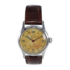 Tudor by Rolex Stainless Steel Oyster with Original Patinated Dial, circa 1960's
