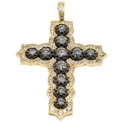 8.00 Carat Diamond Cross