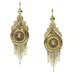 Victorian Fringe Earrings