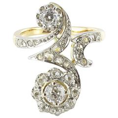 French Belle Epoque Diamond Ring