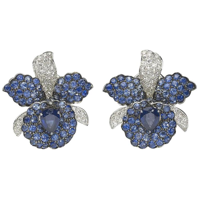 sapphire orchid jewelry earrings for sale back id diamond at j lever and l