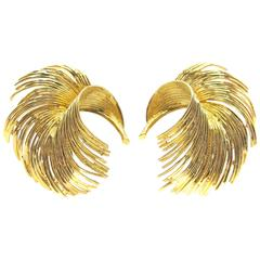 Tiffany & Co. Gold Ear Clips 1960s