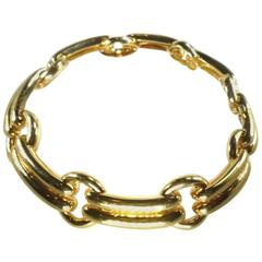 David Webb Gold Tambourine Necklace 57th Street Collection