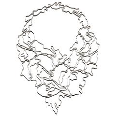 Nathalie Jean Sterling Silver Limited Edition Articulated Necklace