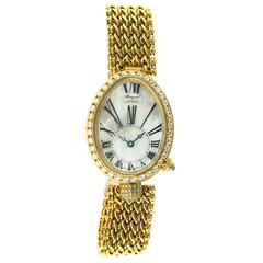 Breguet Ladies Yellow Gold Reine de Naples Self-Winding 8918 Wristwatch