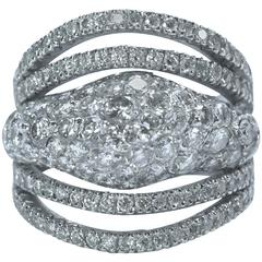 Marion Jeantet Diamonds White Gold Ring