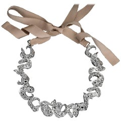 Nathalie Jean Limited Edition Silver Necklace