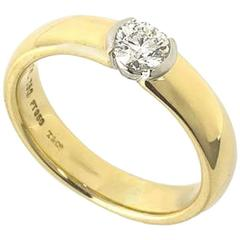 Tiffany & Co. Etoile Diamond Ring 0.33 Carat