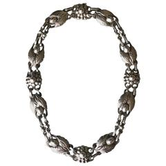 Georg Jensen Sterling Silver Necklace No. 1