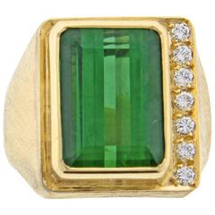 Burle Marx Tourmaline and Diamond Ring