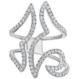 Emilio Jewelry Geometric Diamond Ring