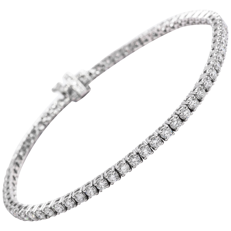 Diamond Tennis Bracelet 3.00 Carat