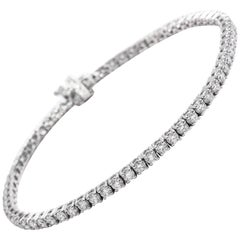 Diamond Tennis Bracelet 3.00 Carat
