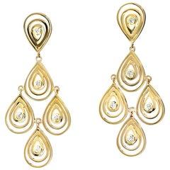 Cassandra Goad Capuri Gold Earrings