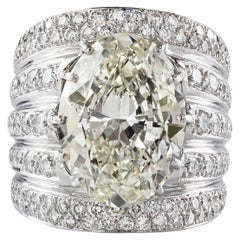 Important 14.03 Carat Diamond Cocktail Ring