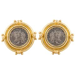 Elizabeth Locke Ancient Coin Earrings