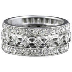 Antique Victorian Paste Eternity Ring, circa 1900