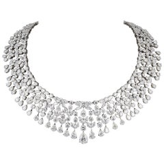 Magnificent Multi Shape Diamond Necklace