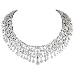 Magnificent Multi Shape Diamond Necklace