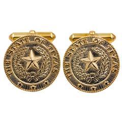 State of Texas Cufflinks