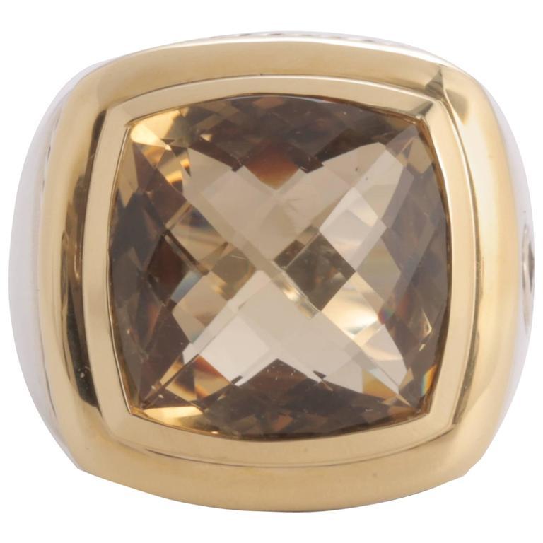 David Yurman Citrine Albion Ring
