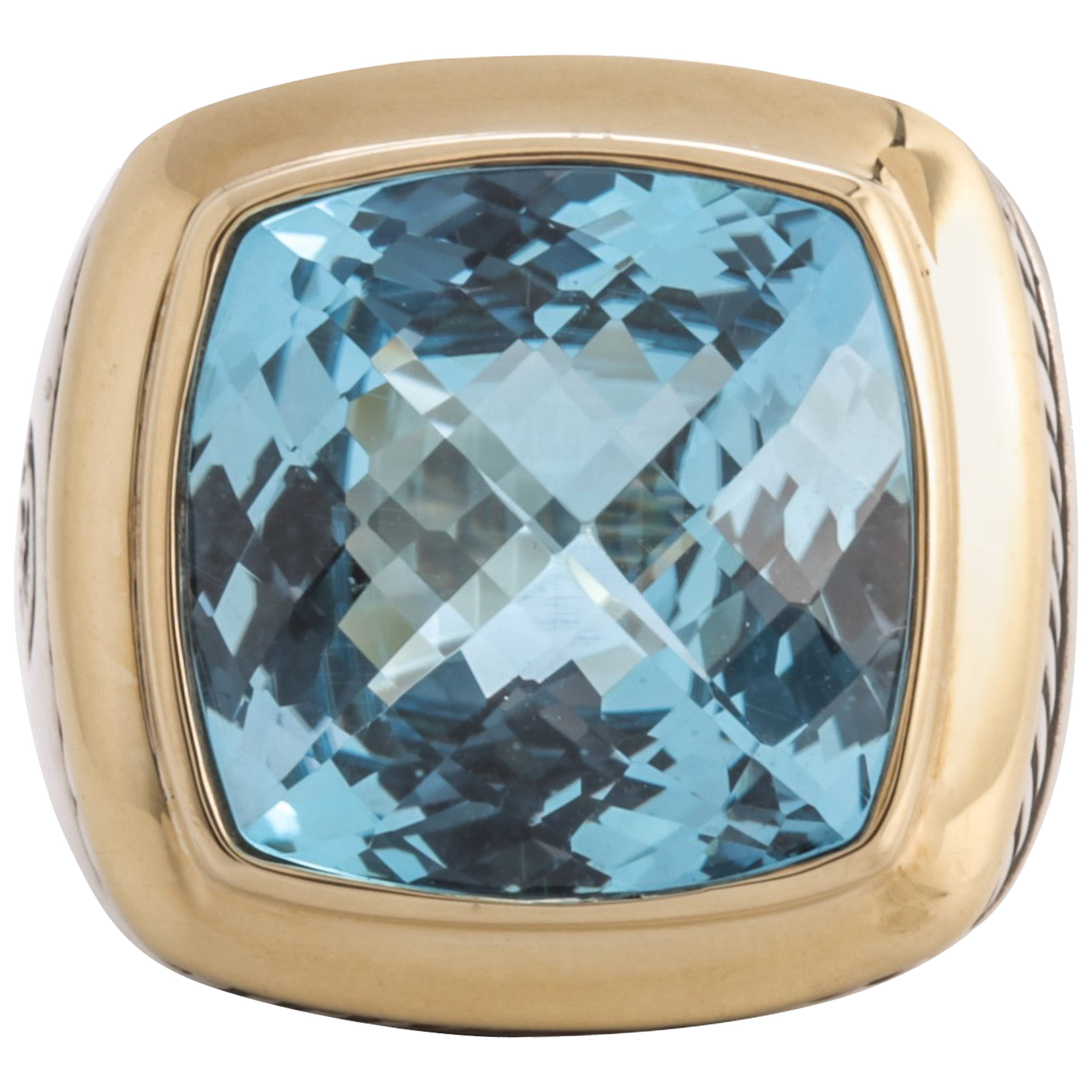 78aece88e8c0 David Yurman Blue Topaz Albion Ring at 1stdibs