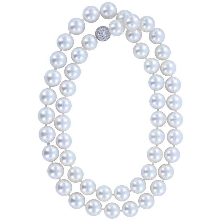 Opera Length South Sea Pearl Necklace