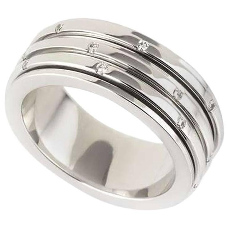 Piaget Possession White Gold Diamond Set Ring