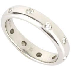 Tiffany & Co. Etoile Diamond Platinum Ring 0.23 Carat