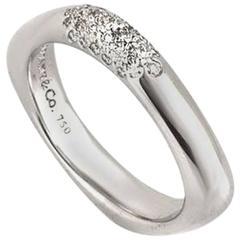 Tiffany & Co. Diamond White Gold Band 0.25 Carat