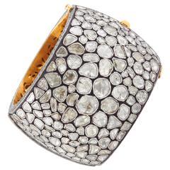 Indian Rose Cut Diamond Bracelet