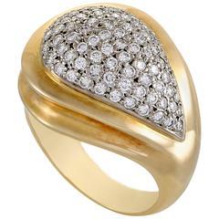 Zolotas Diamond Yellow and White Gold Ring