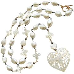 Pearl Beaded Necklaces