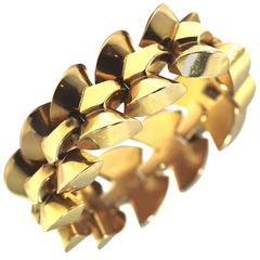 French Yellow Gold Bracelet circa 1920