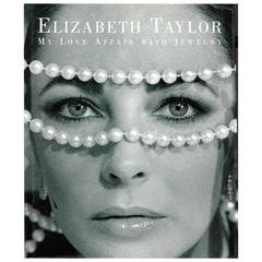 Book of ELIZABETH TAYLOR - My Love Affair with Jewelry