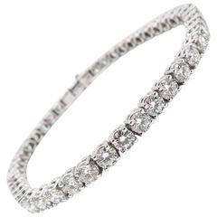 Asprey Diamond Tennis Bracelet
