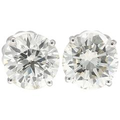 8.98 Carat EGL Certified Diamond Stud Earrings