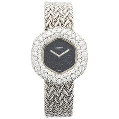 Lady's Audemars Piguet White Gold Diamond Watch, circa 1970s