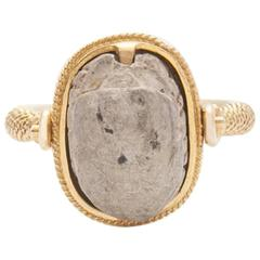 Victorian Scarab Spinner Ring